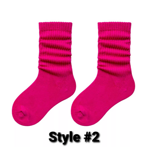 Candy Colored Socks
