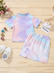 Tie Dye Skirt Set | COTTON CANDY