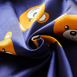 Teddy All Over Pajama Set | DEEP BLUE