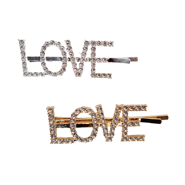 """LOVE"" Hair Pin 