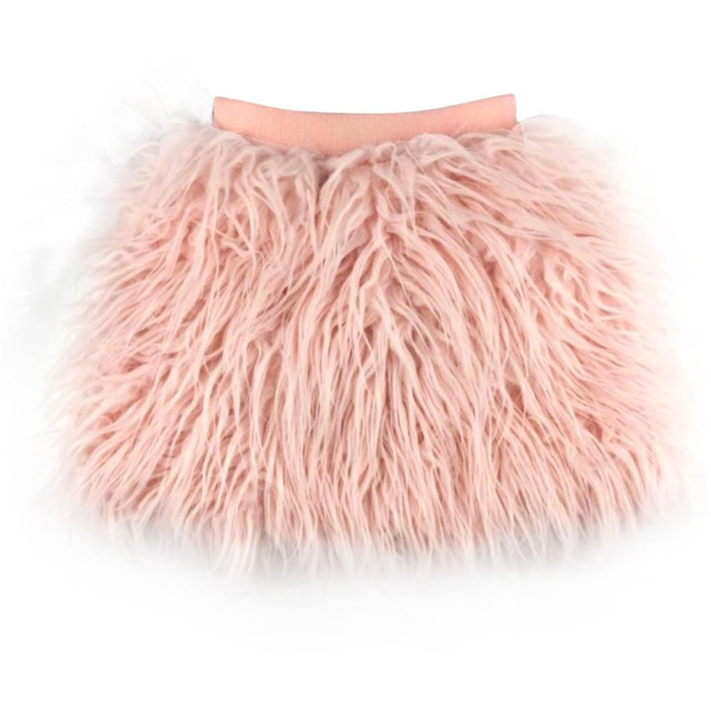 Faux Fur Fashion Skirt - Rah Love's Boutique- Affordable Trendy Toddler Clothing & Accessories