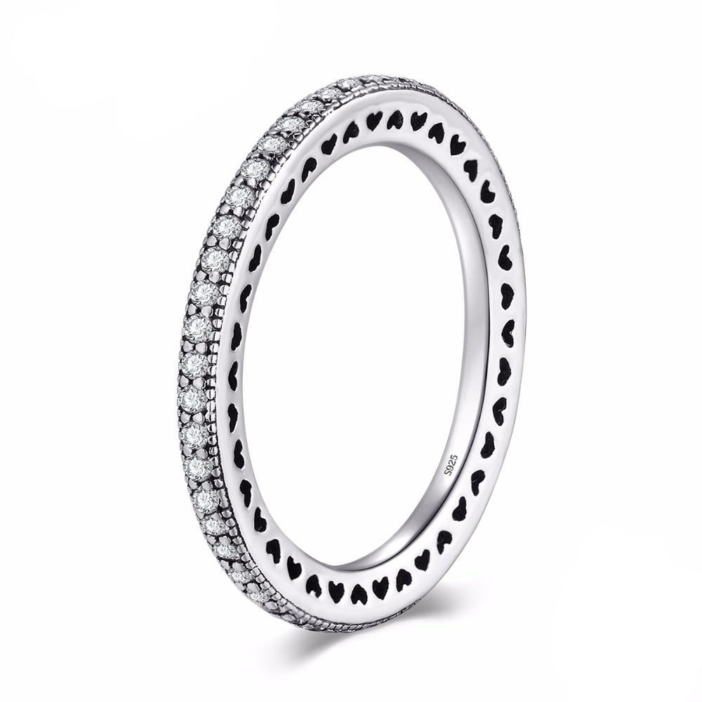 THE MINI STONE SILVER RING