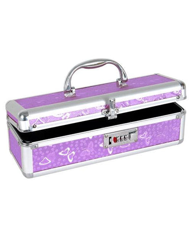 Lockable Toy Case-Storage Cases & Bags-B.M.S. Enterprises-Purple Butterfly-Slightly Legal Toys