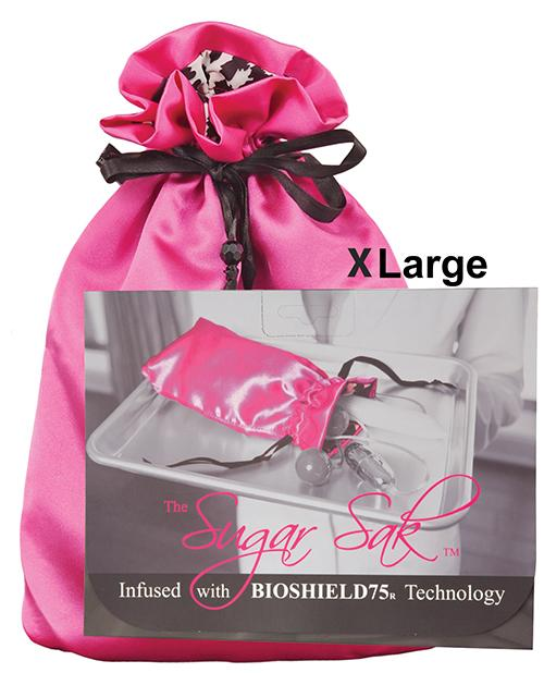 Sugar Sak Anti-bacterial Toy Bag-Storage Cases & Bags-Sugar N Spice Boutique-X-Large/Pink-Slightly Legal Toys