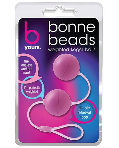 Blush B Yours Bonne Beads-Stimulators-Blush Novelties-Pink-Slightly Legal Toys