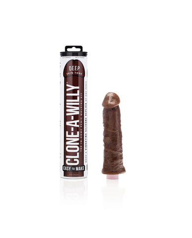 Clone-A-Willy Kit Vibrating - Deep Skin Tone