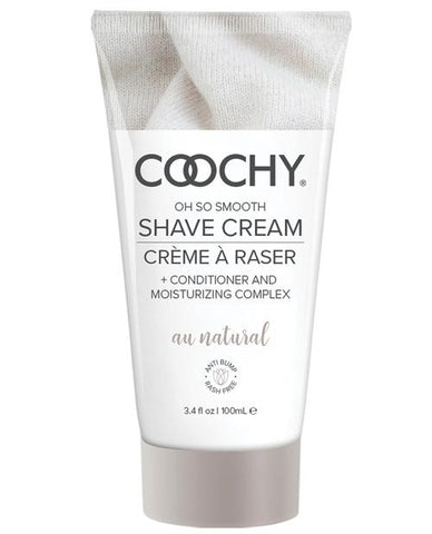 Coochy Shave Cream-Body & Bath Products-Classic Brands-Au Natural-3.4 oz-Slightly Legal Toys