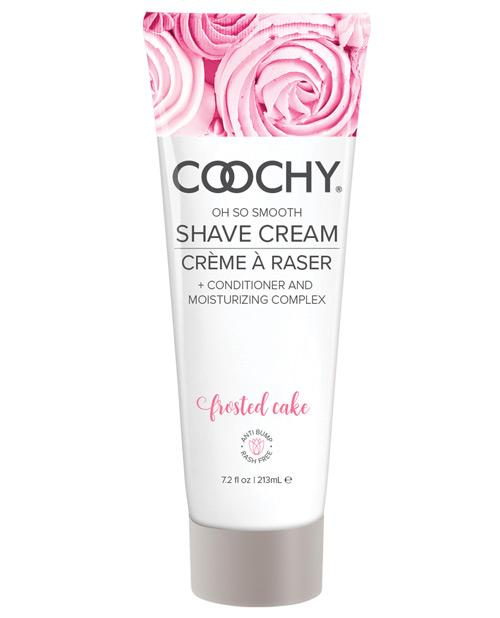 Coochy Shave Cream-Body & Bath Products-Classic Brands-Frosted Cake-7.2 oz-Slightly Legal Toys