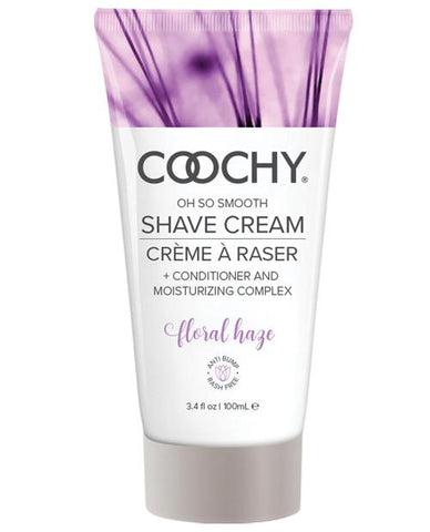 Coochy Shave Cream-Body & Bath Products-Classic Brands-Floral Haze-3.4 oz-Slightly Legal Toys