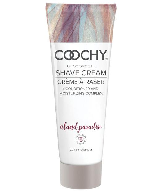 Coochy Shave Cream-Body & Bath Products-Classic Brands-Island Paradise-7.2 oz-Slightly Legal Toys