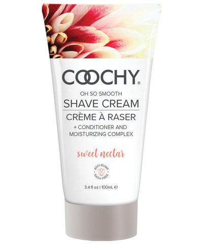 Coochy Shave Cream-Body & Bath Products-Classic Brands-Sweet Nectar-3.4 oz-Slightly Legal Toys