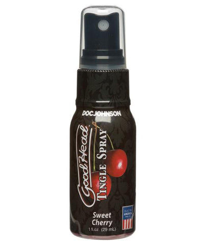GoodHead Tingle Spray-Sexual Enhancers-Doc Johnson-Sweet Cherry-Slightly Legal Toys
