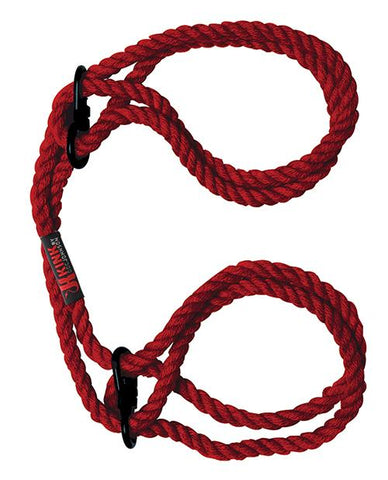 Kink Hogtie Bind & Tie Wrist Or Ankle Cuffs - 6 mm Hemp Rope