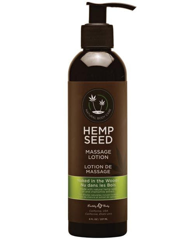 Earthly Body Hemp Seed Massage Lotion-Massage Products-Earthly Body-Naked in the Woods-8 oz.-Slightly Legal Toys