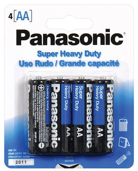 Panasonic Super Heavy Duty Battery AA - Pack Of 4-Batteries-Power Technology-Slightly Legal Toys