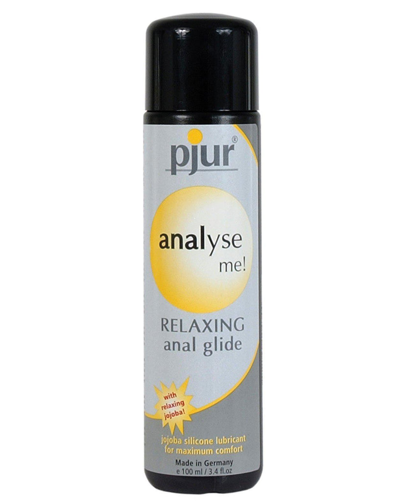 Pjur Analyse Me Silicone Personal Lubricant - 100 Ml Bottle-Anal Products-Pjur Group U.S.A.-Slightly Legal Toys