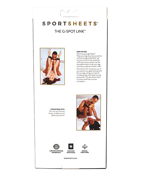 Sportsheets The G-spot Link Positionary Cuffs For Amazing Sex