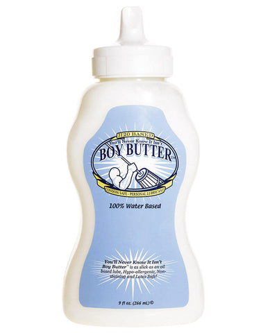Boy Butter H2o Squeeze - 9 Oz-Gay & Lesbian Products-Boy Butter Lubes LLC-Slightly Legal Toys
