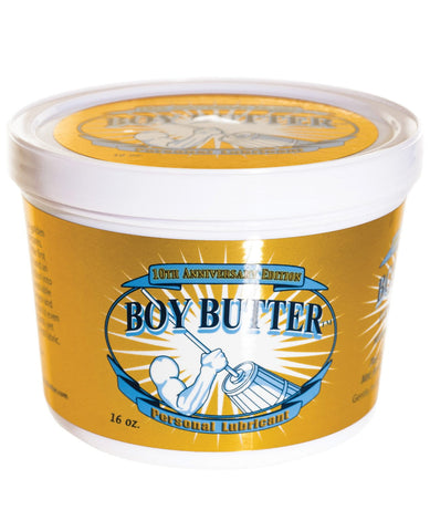 Boy Butter Gold - 16 Oz Tub-Lubricants-Boy Butter Lubes LLC-Slightly Legal Toys