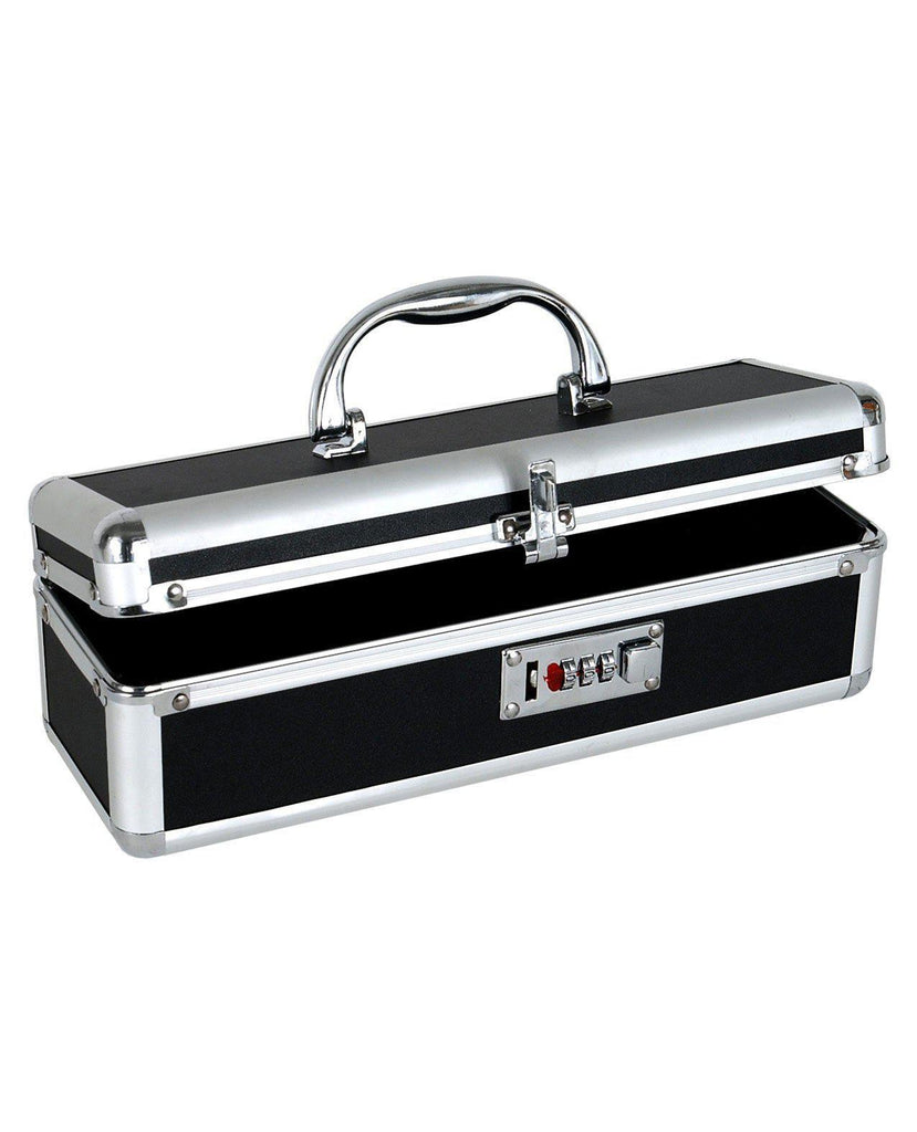 Lockable Toy Case-Storage Cases & Bags-B.M.S. Enterprises-Black Matte-Slightly Legal Toys