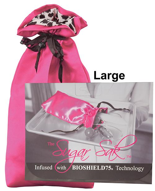 Sugar Sak Anti-bacterial Toy Bag - Pink
