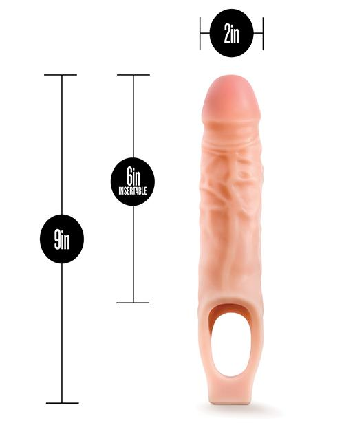 Blush Performance Plus Silicone Cock Sheath Penis Extender