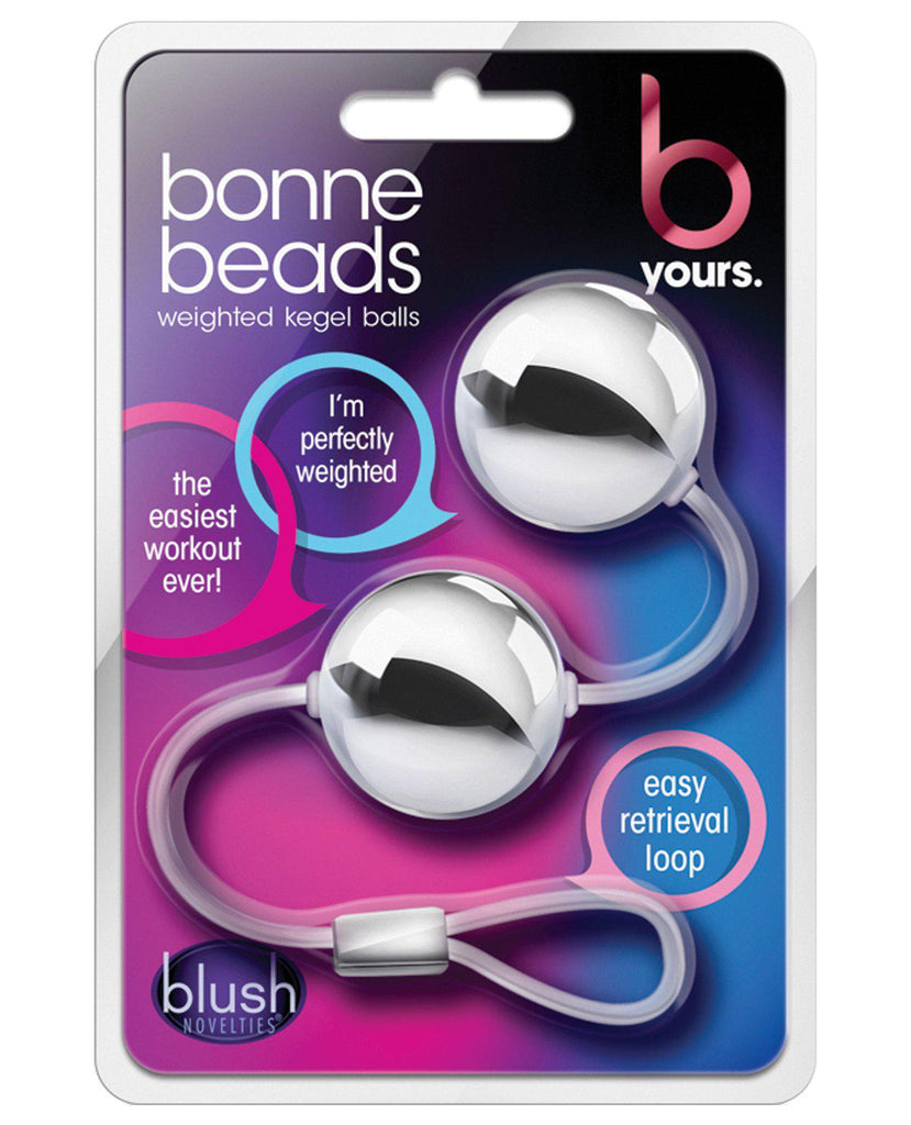 Blush B Yours Bonne Beads-Stimulators-Blush Novelties-Silver-Slightly Legal Toys