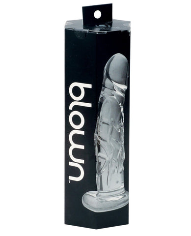 Blown Realistic Glass Medium-Dongs & Dildos-Spartacus-Slightly Legal Toys