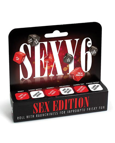 Sexy 6 Dice Game - Sex Edition