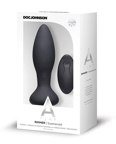 A-Play Rimmer Experienced Rechargeable Silicone Anal Plug w/Remote