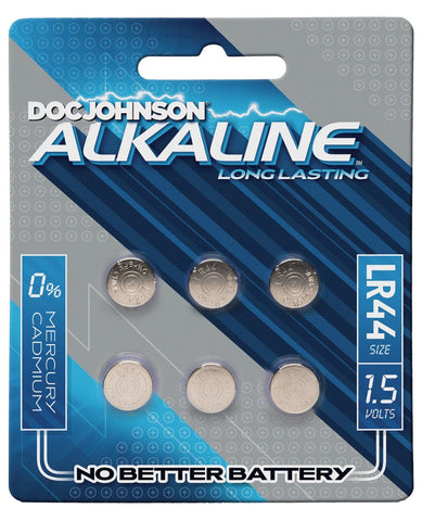 Doc Johnson Alkaline Batteries LR44 - Pack Of 6-Batteries-Doc Johnson-Slightly Legal Toys