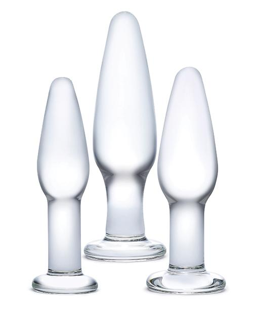Glas 3pc Hand Blown Glass Anal Training Kit