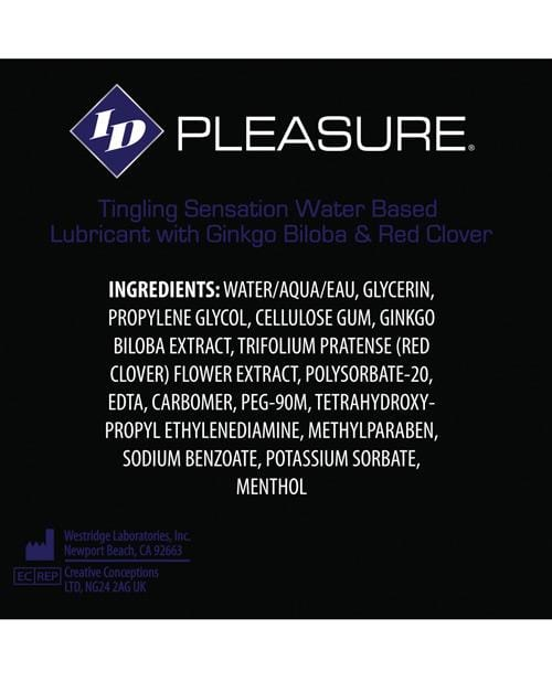 ID Pleasure Waterbased Tingling Lubricant