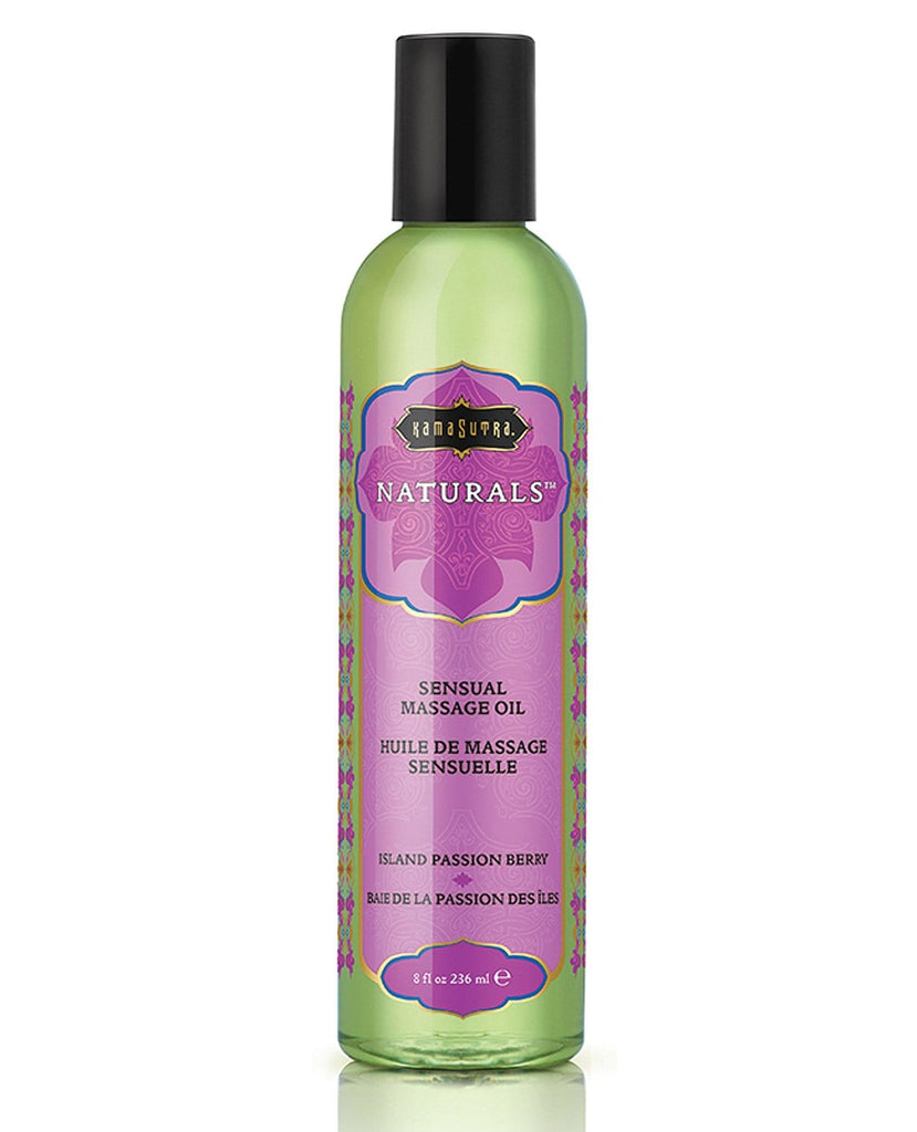 Kama Sutra Naturals Massage Oil-Massage Products-Kama Sutra-Island Passion Berry-Slightly Legal Toys