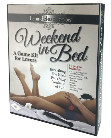 Weekend In Bed Game Kit-Games For Romance & Couples-Little Genie Productions LLC-Slightly Legal Toys
