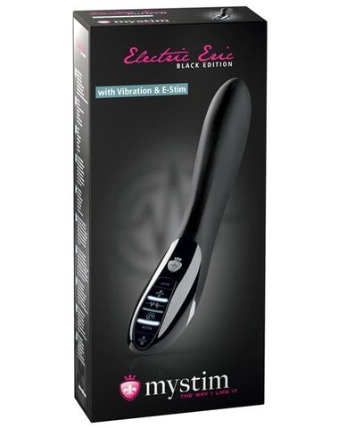 Mystim Electric Eric w/Vibration & E-Stim - Black Edition