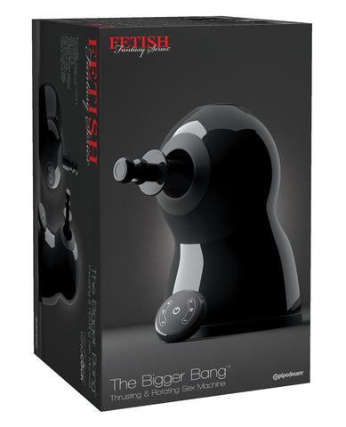 Fetish Fantasy Series The Bigger Bang Thrusting & Rotating Sex Machine-Sex Machines-Pipedream Products-Slightly Legal Toys