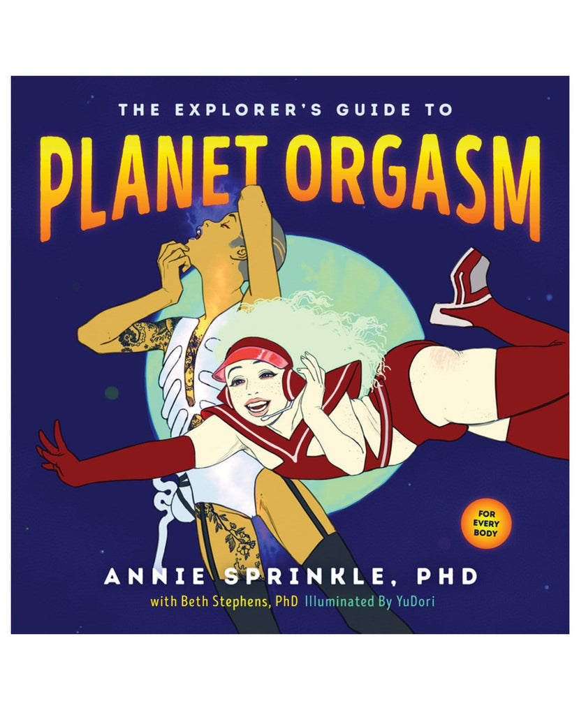 The Explorer's Guide To Planet Orgasm-Books Instructional-Scb Distributors-Slightly Legal Toys