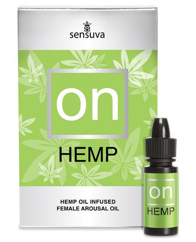 Sensuva ON Hemp Oil Infused Female Arousal Oil - 5 Ml