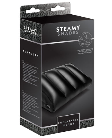 Steamy Shades Inflatable Wedge-Position Aids & Swings-St Rubber Gmbh-Slightly Legal Toys