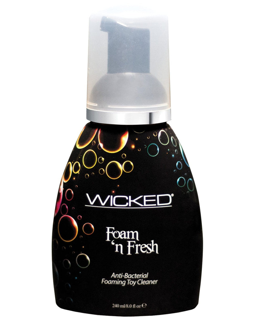 Wicked Sensual Care Foam N Fresh Anti-bacterial Foaming Toy Cleaner - 8 Oz-Toy Cleaners-Wicked Sensual Care-Slightly Legal Toys
