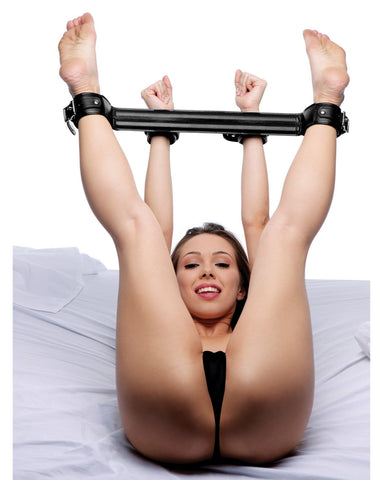 Strict Spreader Bar System-Bondage Blindfolds & Restraints-Xr LLC-Slightly Legal Toys
