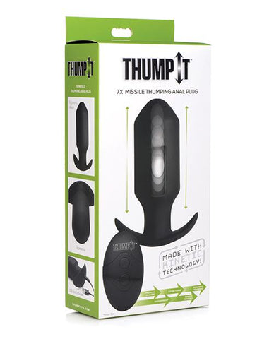 Thump It 7x Missile Thumping Anal Plug