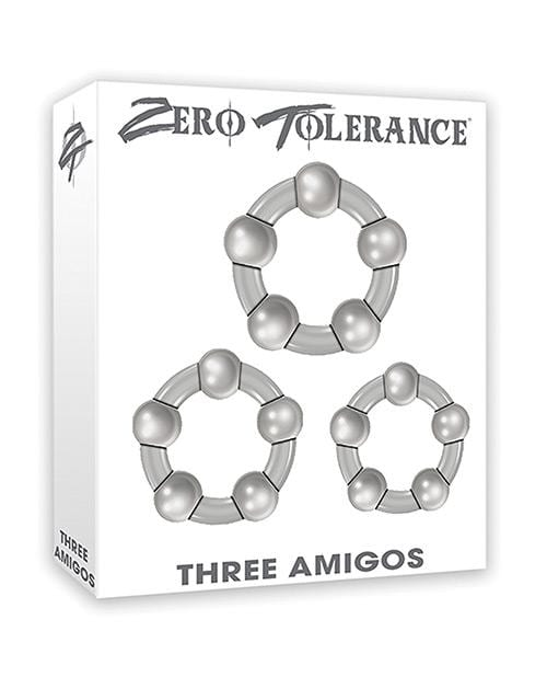 Zero Tolerance Three Amigos Cock Rings