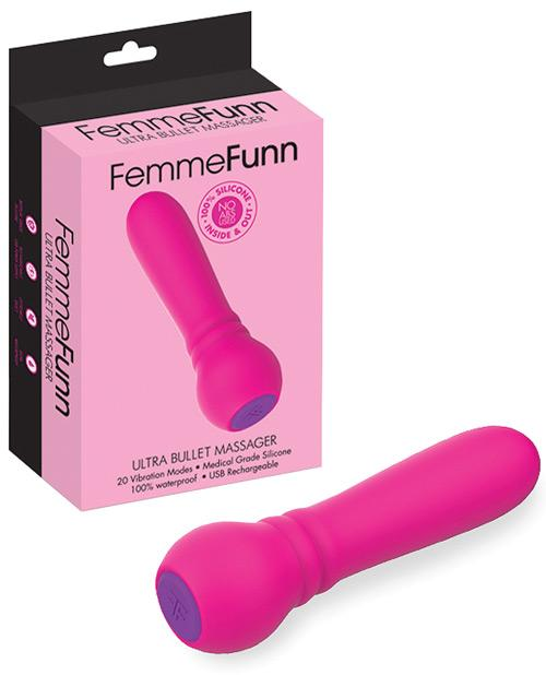 Femme Funn Ultra Bullet Massager-Stimulators-Vvole LLC-Pink-Slightly Legal Toys