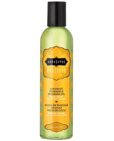 Kama Sutra Naturals Massage Oil-Massage Products-Kama Sutra-Coconut Pineapple-Slightly Legal Toys