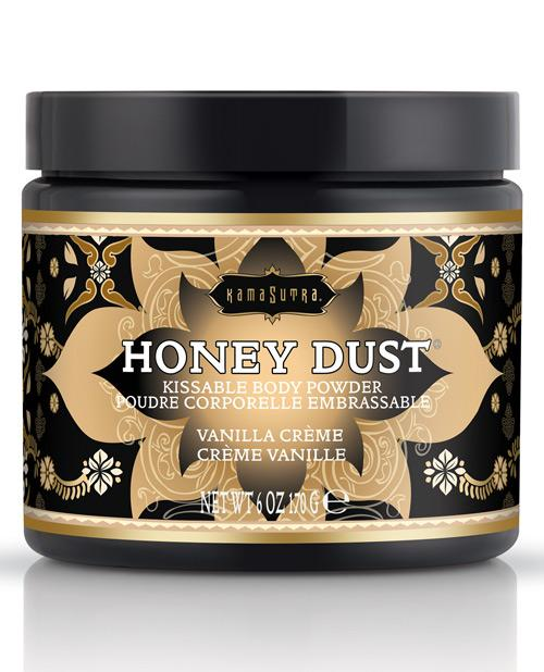 Kama Sutra Honey Dust - 6 Oz-Body Toppings & Edibles-Kama Sutra-Vanilla Crème-Slightly Legal Toys