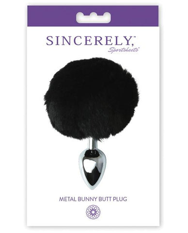 Sincerely Metal Bunny Butt Plug