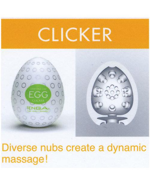 Tenga Egg Variety Carton - 6 Textures-Dolls & Masturbators-Tenga Usa INC-Clicker-Slightly Legal Toys