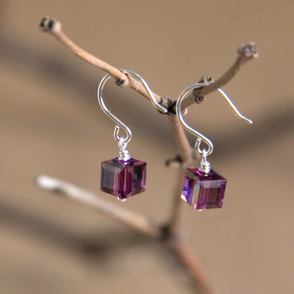 Aquarius Swarovski Crystal Earrings
